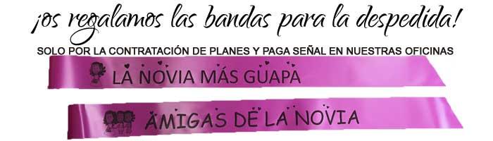 bandasdespedidas - REGALO PARA LA NOVIA/O Y ASISTENTES