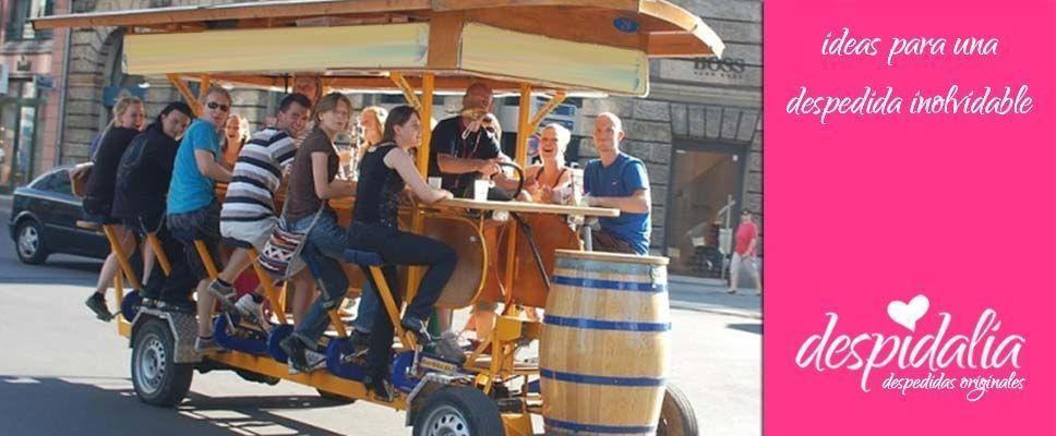 Beerbike en Barcelona para amantes de la cerveza