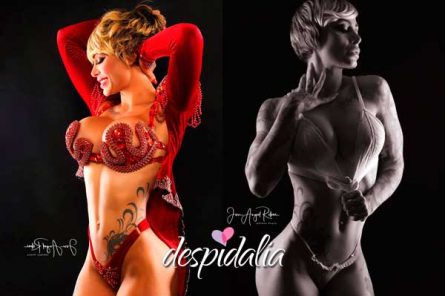 tatiana delgado pelo corto2 445x296 - Stripper Tatiana Delgado