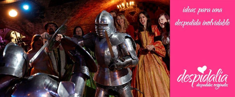Organiza una despedida de soltera con temática medieval