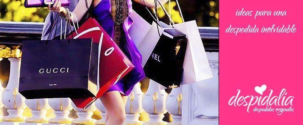 Tour de compras para una despedida de soltera chic