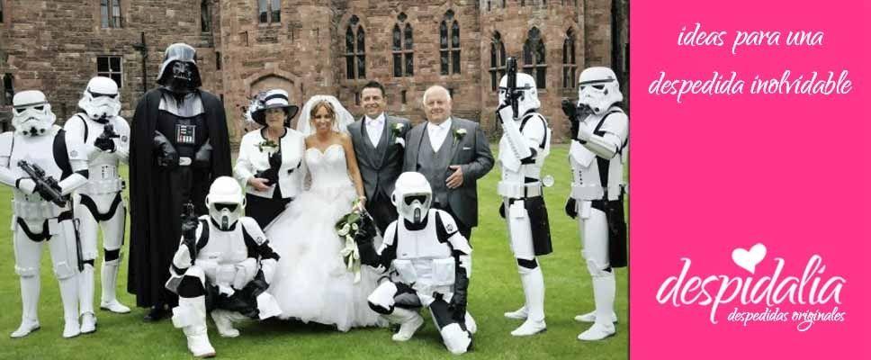 Ideas para bodas temáticas y diferentes