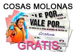 COSAS MOLONAS GRATIS PARA TU DESPEDIDA