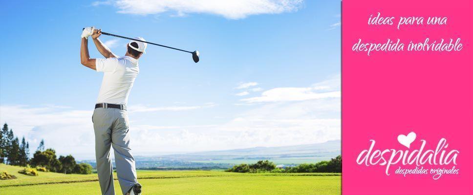 Bautismo de golf para despedidas de soltera