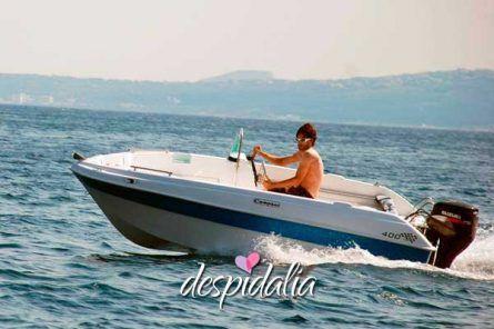 Alquiler de barco sin licencia