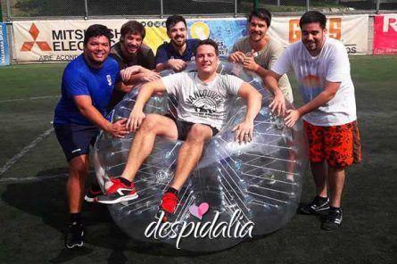 Fútbol Burbuja + Cena + Espectáculo + Disco + Copa