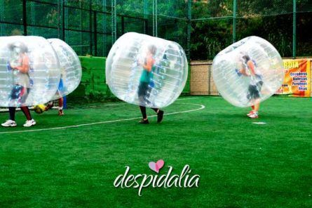 Fútbol Burbuja + Cena + Espectáculo