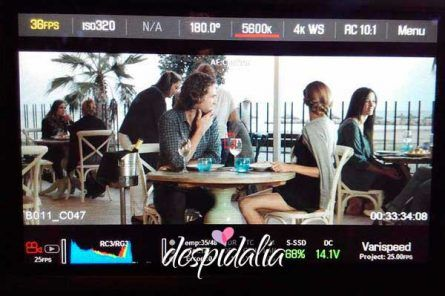 grabacion videoclip barcelona3 445x296 - Grabación de Video Clip