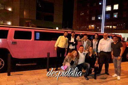 hummer rosa barcelona2 445x296 - Limusina Hummer Rosa