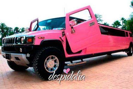 hummer rosa barcelona3 445x296 - Despedida de soltera Pretty Woman