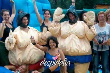 humor amarillo despedidas barcelona7 445x296 - Humor amarillo + Karting + Cena