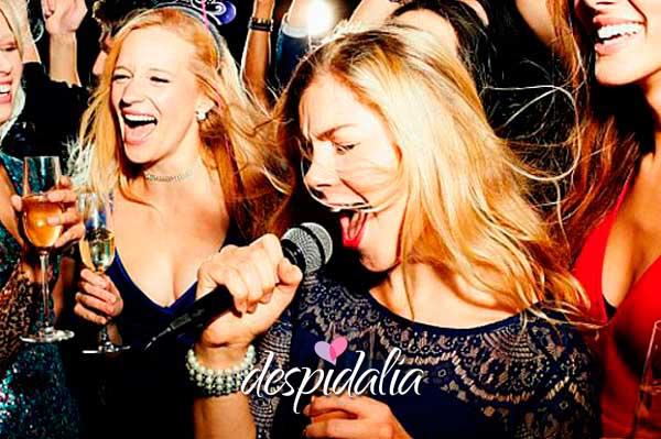 karaoke - Pruebas para hacerle a la novia en su despedida