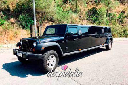 limusina jeep barcelona3 445x296 - Cena + Tapersex + Limusina + Disco + Copa