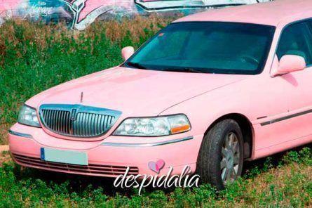 limusina rosa barcelona3 445x296 - Limusina de Color Rosa