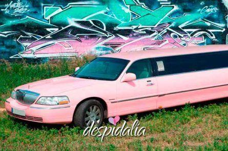 limusina rosa barcelona4 445x296 - Limusina de Color Rosa