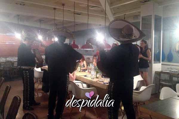 mariachis despedida barcelona1 - Temática Mexicana Para Despedidas De Soltera