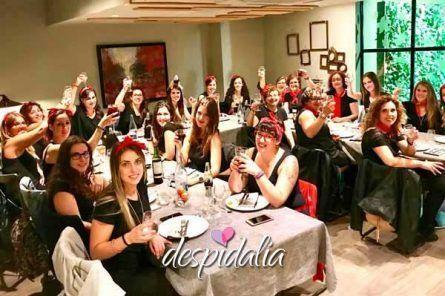 restaurante enric granados barcelona despedidas4 445x296 - SPA + Cena + Tuppersex