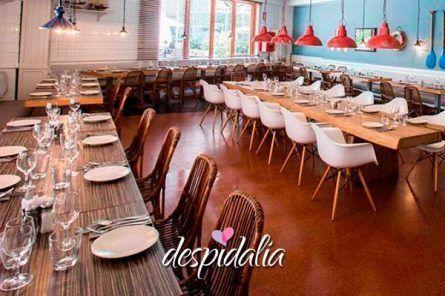 restaurante port olimpic despedidas7 445x296 - Cena/Comida + Show de Improvisación