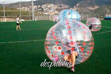 Bubble Football en Sitges