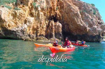 kayak sitges2 445x296 - Excursión Kayak en Sitges