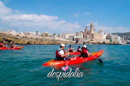 kayak sitges4 445x296 - Excursión Kayak en Sitges