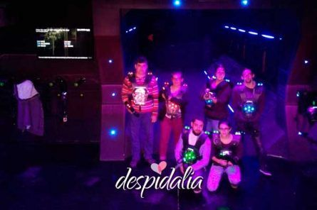 laser tag barcelona 445x296 - Karting + Láser Tag + Bowling