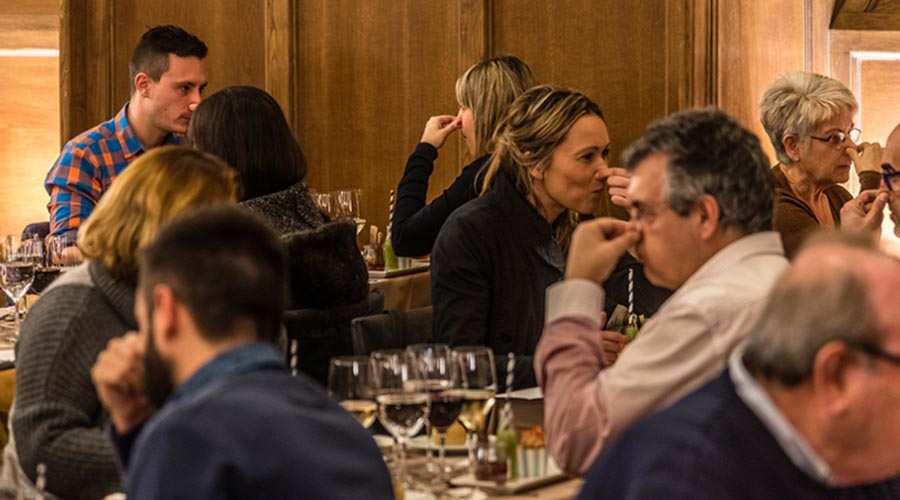 Cena de los sentidos en Barcelona 2 - Cena de los sentidos en Barcelona