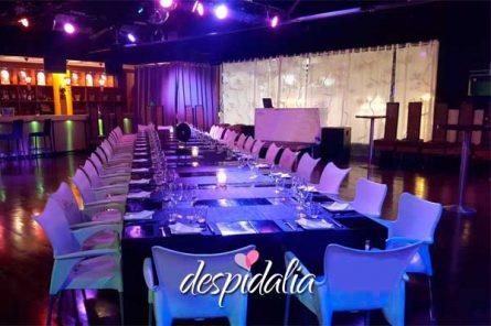 Despedida en Sabadell con cena y espectáculo