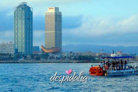 beer sangria boat bike3 445x296 - Barco a Pedales con Cerveza y Sangria