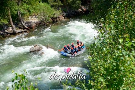 rafting bacelona despedidas3 445x296 - Rafting desde Barcelona