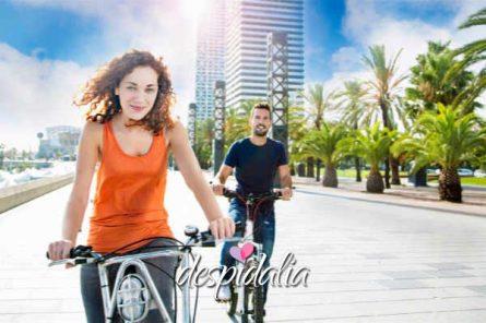 gincana bici barcelona1 445x296 - Gincana escape en bicicleta