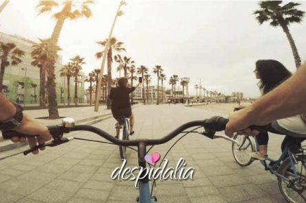 gincana bici barcelona4 445x296 - Gincana escape en bicicleta