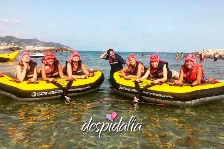 donut sitges despedidas1 445x296 - Donut Boat en Sitges